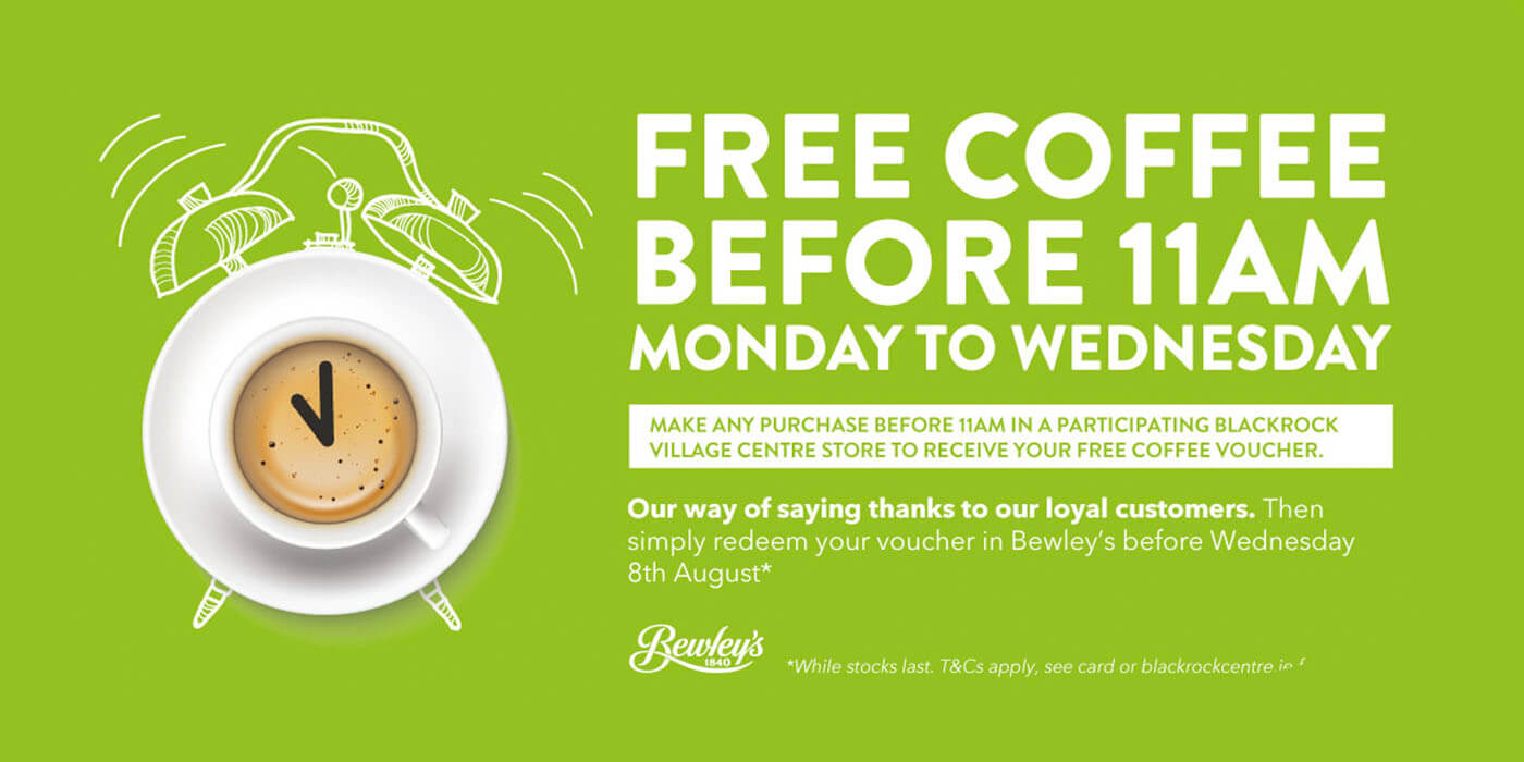 Free Coffee Before 11am