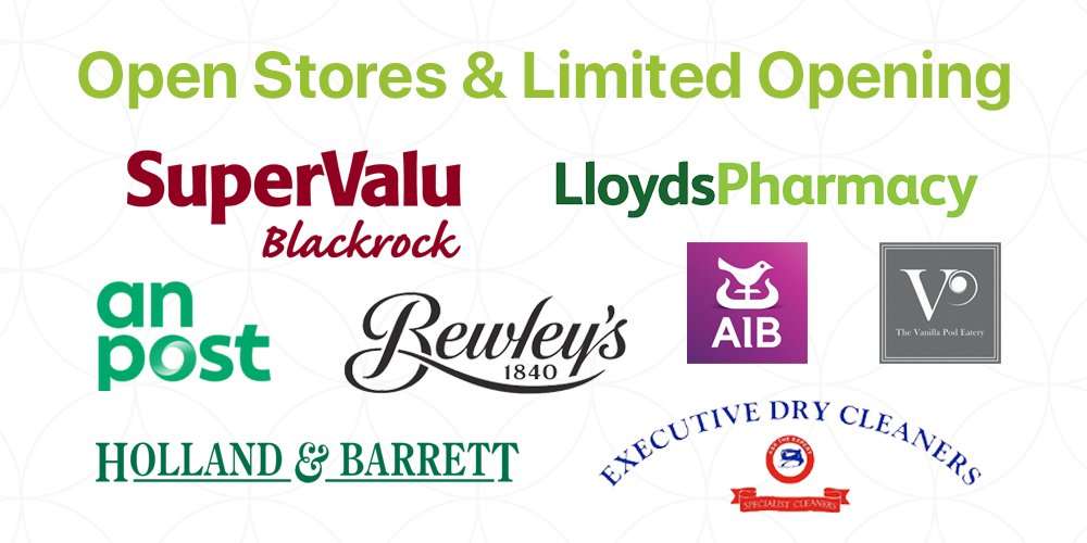 SuperValu and Loyds Pharmacy remain open to serve the community.